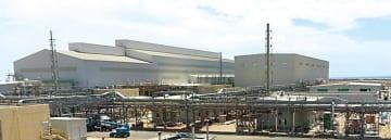 サウジアラビア西部のヤンブーに2015年5月から建設していたスポンジチタンの合弁工場が竣工した
