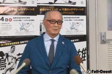 会見に応じた巨人・長嶋茂雄終身名誉監督【写真:編集部】