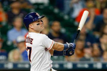 7月の月間打率が5割を越えるアストロズのホセ・アルトゥーベ【写真:Getty Images】