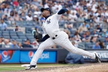 ヤンキースのアロルディス・チャプマン【写真:Getty Images】
