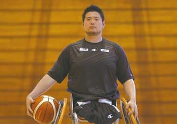 香西宏昭選手(車いすバスケットボール)