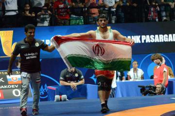 階級アップをものともせず世界一に輝いたハッサン・ヤズダニ(イラン)