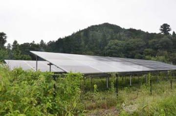 全国的に設置が進んでいる太陽光発電施設。周辺住民への十分な説明がトラブルの防止につながる(京都府京丹波町内)