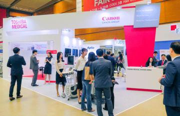 東芝メディカルシステムズは韓国での営業活動を強化している(同社提供)