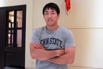 米国での2年間のコーチ留学を終え、帰国した米満達弘さん