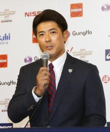 野球日本代表に山崎康、田口ら