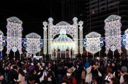 昨年の神戸ルミナリエの様子=神戸市中央区