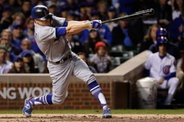2打席連続本塁打となる満塁弾を放ったドジャース・ヘルナンデス【写真:Getty Images】