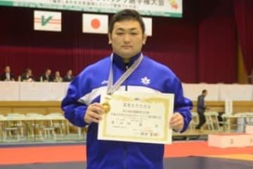 新人選手権を含めて初のタイトルを獲得した伊藤昌(国士舘大)