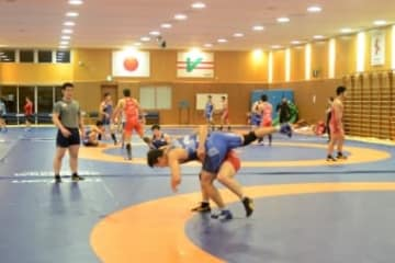 U-23世界選手権と全日本選手権を目指して合宿スタートの男子グレコローマン・チーム