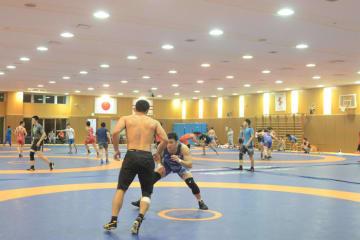 ロシアからの13選手も参加して行なわれた全日本合宿
