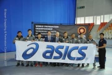 世界パンクラチオン選手権に出場した日本チーム