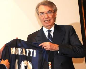 かつてインテルの会長を務めたモラッティ氏 photo/Getty Images