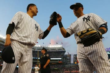 現役時代、ヤンキースで田中とチームメイトだったベルトラン氏【写真:Getty Images】