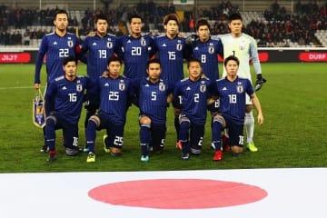 ロシアW杯で飛躍を狙う日本代表メンバー photo/Getty Images