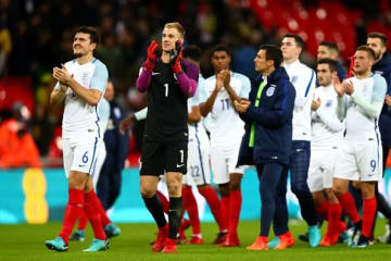 イングランド代表はどこまで進めるか photo/Getty Images
