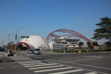 チャイニーズ・タイペイを代表するスタジアムである台中洲際棒球場【写真:広尾晃】