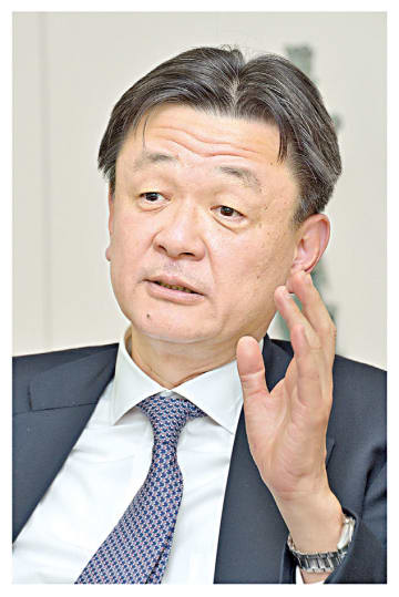 住友商事金属事業部門長・堀江専務