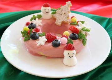 Moke's Bread and Breakfastの「レイラニクリスマスパンケーキ」