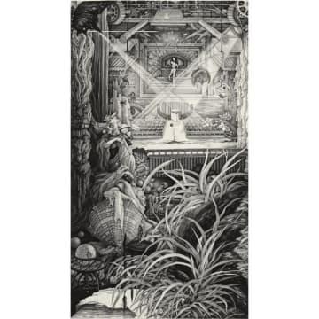 「久生十蘭に捧ぐ」1982年 エッチング