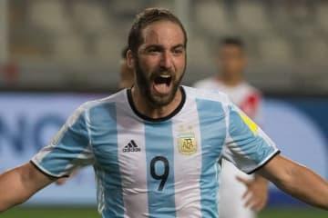 アルゼンチン代表から外れているイグアイン photo/Getty Images