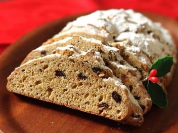 ドイツのクリスマスのお菓子「シュトーレン」がわずか30分でできる簡単レシピです。