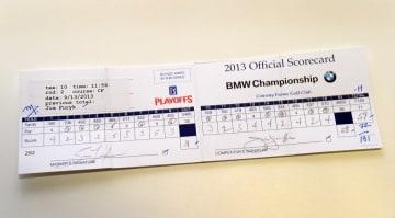 ジム・フューリックが2013年のBMW選手権で「59」をマークした Photo by Stan Badz/PGA TOUR