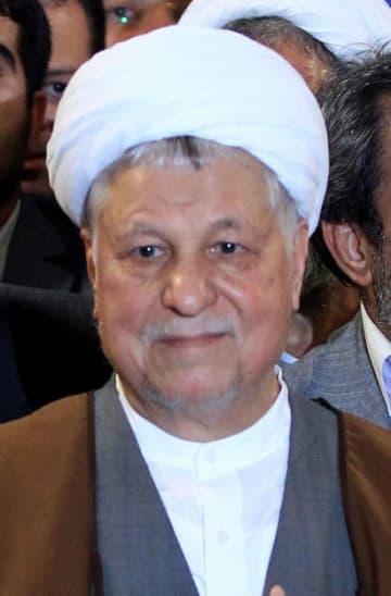イランのラフサンジャニ元大統領(UPI=共同)