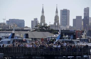 米サンフランシスコのピア39(39番埠頭)=2013年9月(AP=共同)