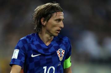 クロアチア代表を支えるモドリッチ photo/Getty Images