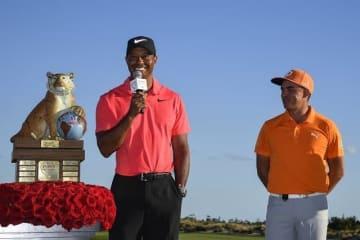 タイガー・ウッズが12月のヒーロー・ワールドチャレンジで10カ月ぶりの実戦復帰を果たした Photo by Ryan Young/PGA TOUR
