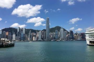 香港の町並み(資料)—本紙撮影
