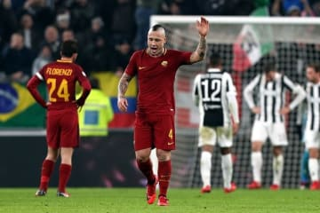 ローマでプレイするナインゴラン photo/Getty Images