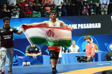 リオデジャネイロ・オリンピックの74kg級に続き、昨年の世界選手権86kg級を制したイランの第一人者、ハッサン・ヤズダニ