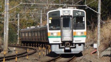 211系 普通列車 東海道本線 三島 函南
