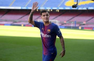 バルセロナ移籍が決定したコウチーニョ photo/Getty Images