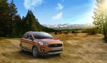 フォードの小型UV「フリースタイル」。インド市場には世界でも早い段階に投入する(同社提供)