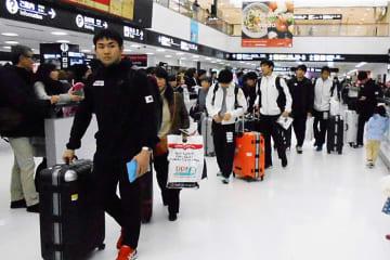 11泊12日のイラン遠征を終えて帰国した全日本チーム