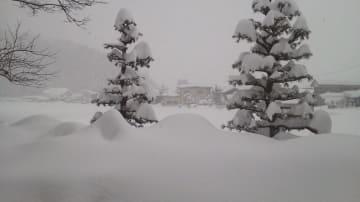 7日午前の福井県越前市内。