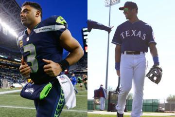 "NFLとMLBの""二刀流選手""ラッセル・ウィルソンをヤンキースが獲得【写真:Getty Images】"