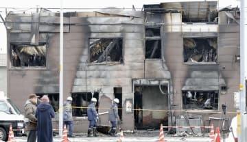 11人が亡くなる火災があった「そしあるハイム」=7日、札幌市