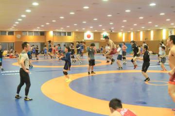 味の素トレーニングセンターで行われた3スタイル合同合宿