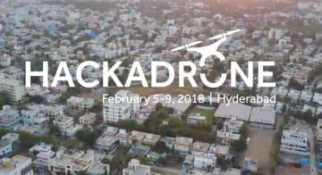 Hackadroneを開催したhttp://www.hackadrone.in/サイト