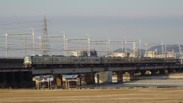 223系 新快速 山陽本線 東姫路 御着
