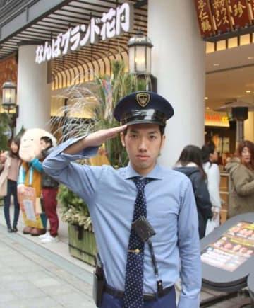 広島県警の元警察官でお笑い芸人の下川優太郎さん=大阪市