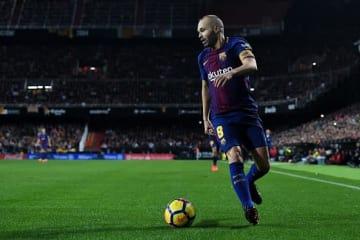 バルセロナの司令塔・イニエスタ photo/Getty Images
