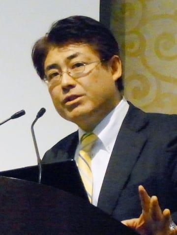 産経新聞の加藤達也元ソウル支局長=2016年、福岡市