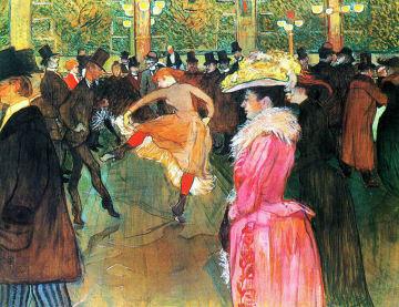 ロートレック ムーラン・ルージュの舞踏会 Bal au Moulin Rouge アンリ・ド・トゥールーズ=ロートレック