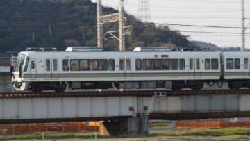 221系 電車 快速 山陽本線 東姫路 御着