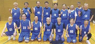平均年齢66歳の横浜ビー・シーガルズ